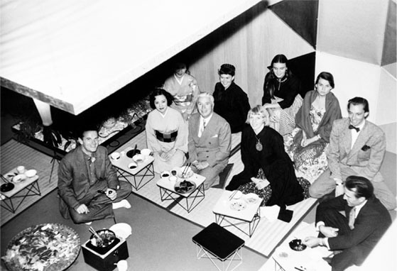 the eames office. Sculptor Isamu Noguchi And Actor Charlie Chaplin, Among Others, Were Invited For A Tea Ceremony At The Eames\u0027 Home Where Charles Created An Individual Wire Eames Office H
